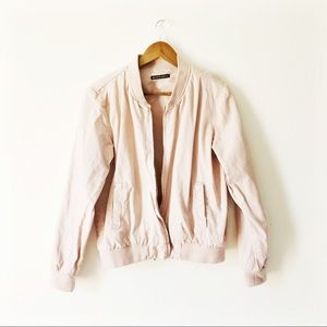 Jackets & Blazers - Brandy Melville bomber jacket
